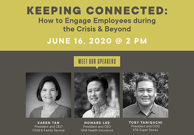 Keeping Connected: How to Engage Employees During the Crisis & Beyond